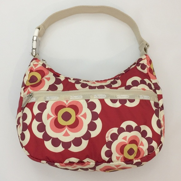Lesportsac Graphic Floral Handbag